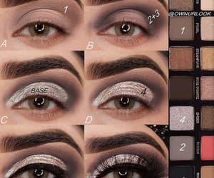 beauty, eye liner, and girl image