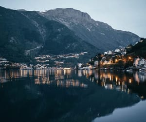 europe, lake, and village image