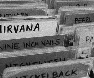 nirvana, music, and grunge image