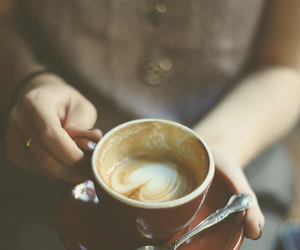 coffee, vintage, and drink image