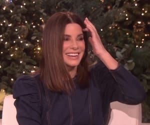 hollywood, ellen show, and sandra bullock image