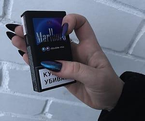 marlboro and nails image