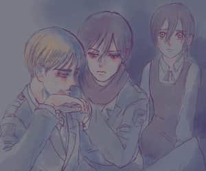 ema, shingeki no kyojin, and armin arlert image