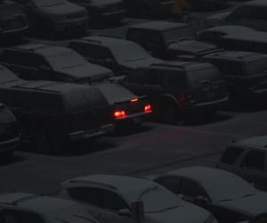 black, cars, and winter image