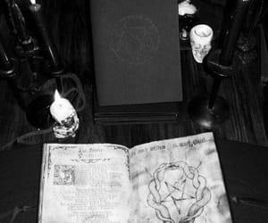 dark, black, and goth image