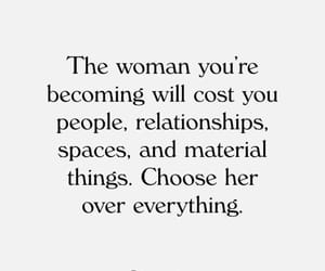 quotes, woman, and motivation image
