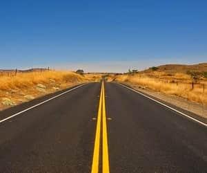 california, camino, and carretera image