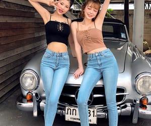 clothing, girls, and kfashion image