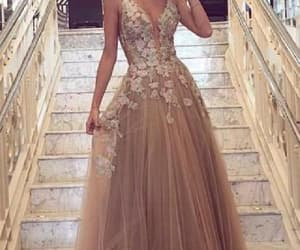 long evening dresses, 2018 prom dresses, and prom dresses a-line image