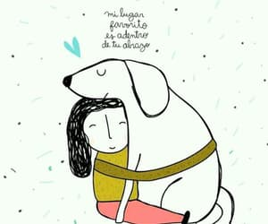 dog, frases, and love image