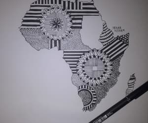 africa, African, and art image