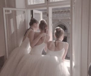 ballerina, pure, and white image