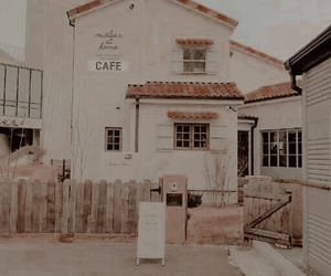 aesthetic, cafe, and theme image