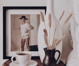 art, caffeine, and coffee image
