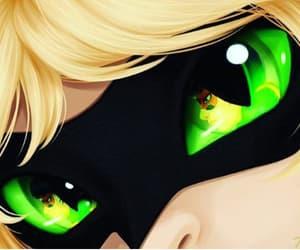 eyes, ladybug, and miraculous image