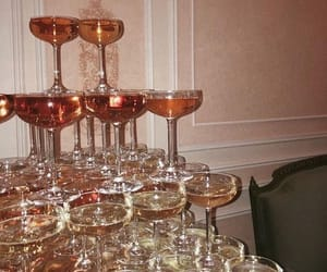 drink, party, and champagne image