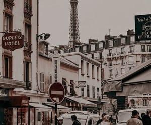 city, paris, and place image
