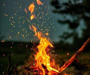 bonfire and fire image