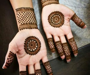 beautiful, designs, and mehndi image