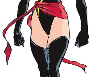 comics, marvel comics, and captain marvel image