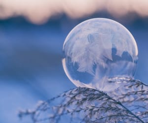blue, snow, and cold image