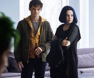 boy, DC, and girl image
