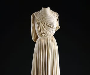 classical, evening gown, and grecian dress image