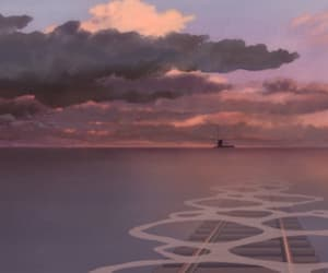 anime, spirited away, and clouds image