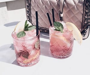 pink and drinks image