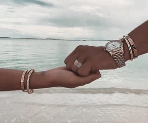 couples, relationship goals, and holding hands image