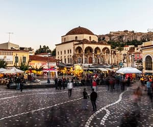 Athens, travel, and city image