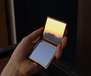 aesthetic, mirror, and sky image