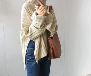 asian fashion, asian girls, and beige image