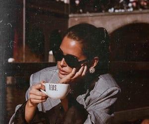 coffee, fashion, and beauty image