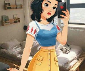 disney, princess, and snow white image