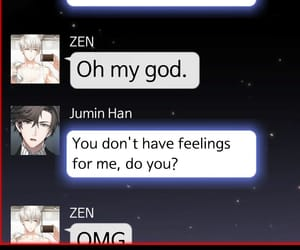 luv, zen, and jumin image