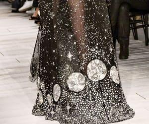 fashion, runway, and moon image
