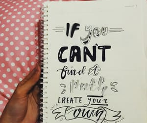 handlettering, lettering, and journal image
