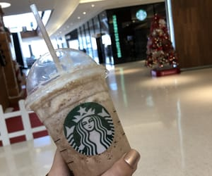 frappucino, mocha, and starbucks image