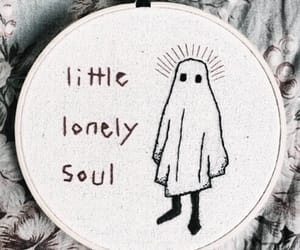 ghost, lonely, and grunge image