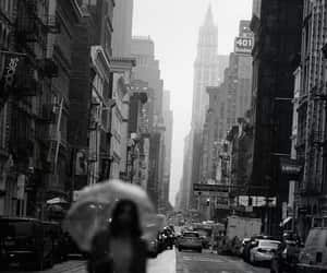 black and white, new york, and photography image