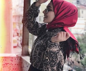 girls, hijab, and outfits image