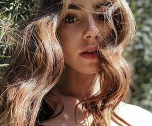 lily collins, beautiful, and curls image