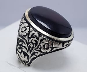 etsy, jewellery, and silver jewellery image