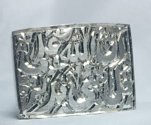 etsy, silverbague, and silver jewellery image