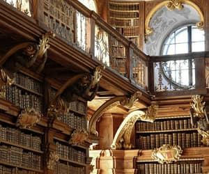library, book, and austria image