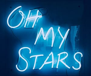 light, neon, and stars image