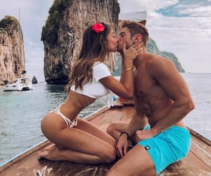 beach, couples, and idea image