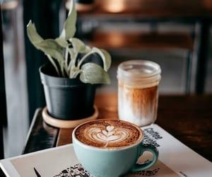 coffee, dessert, and drinks image