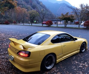 car, nissan, and s15 image
